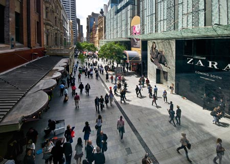 229d12a5f17 Inside Sydney s Central Business District  the Retail Core ...